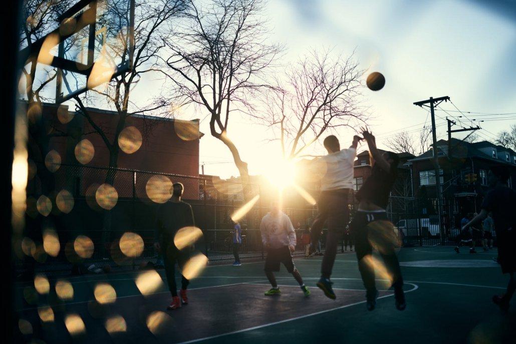 Basketball players - New Jersey
