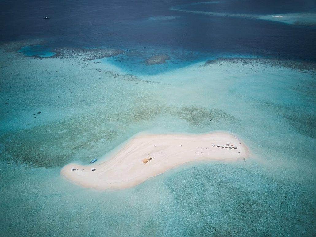 Fotografia con drone Maldive