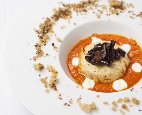 Fotografo food - Piatto al pomodoro