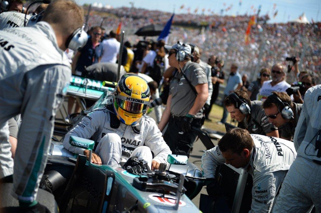Lewis Hamilton - Mercedes GP
