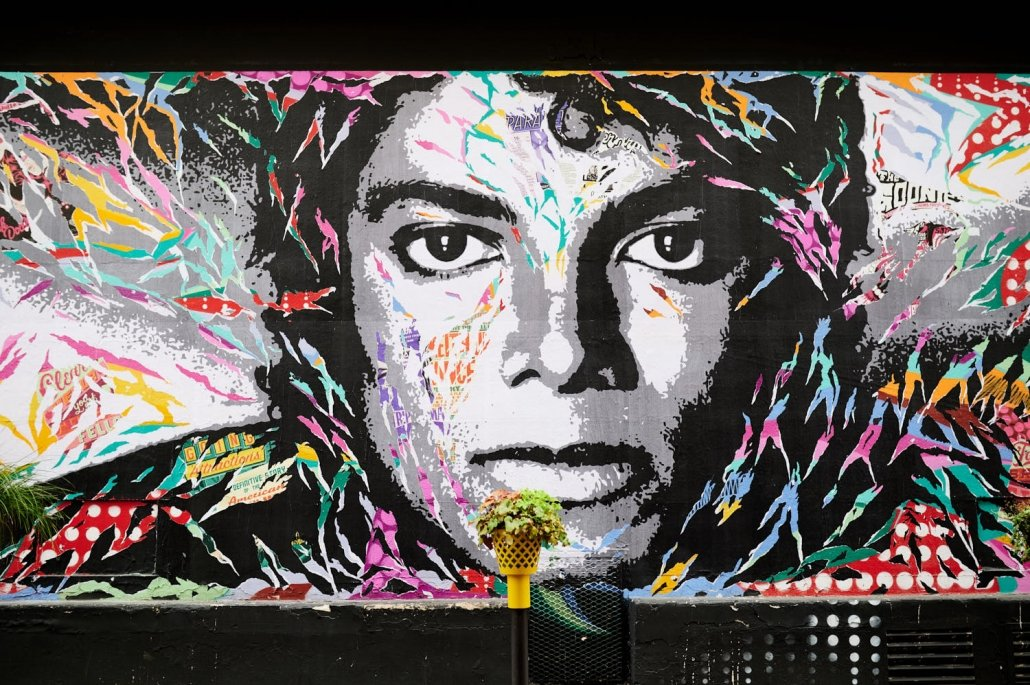 Michael Jackson Graffiti