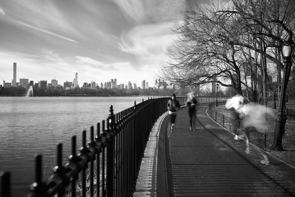 Runners - Central Park New York
