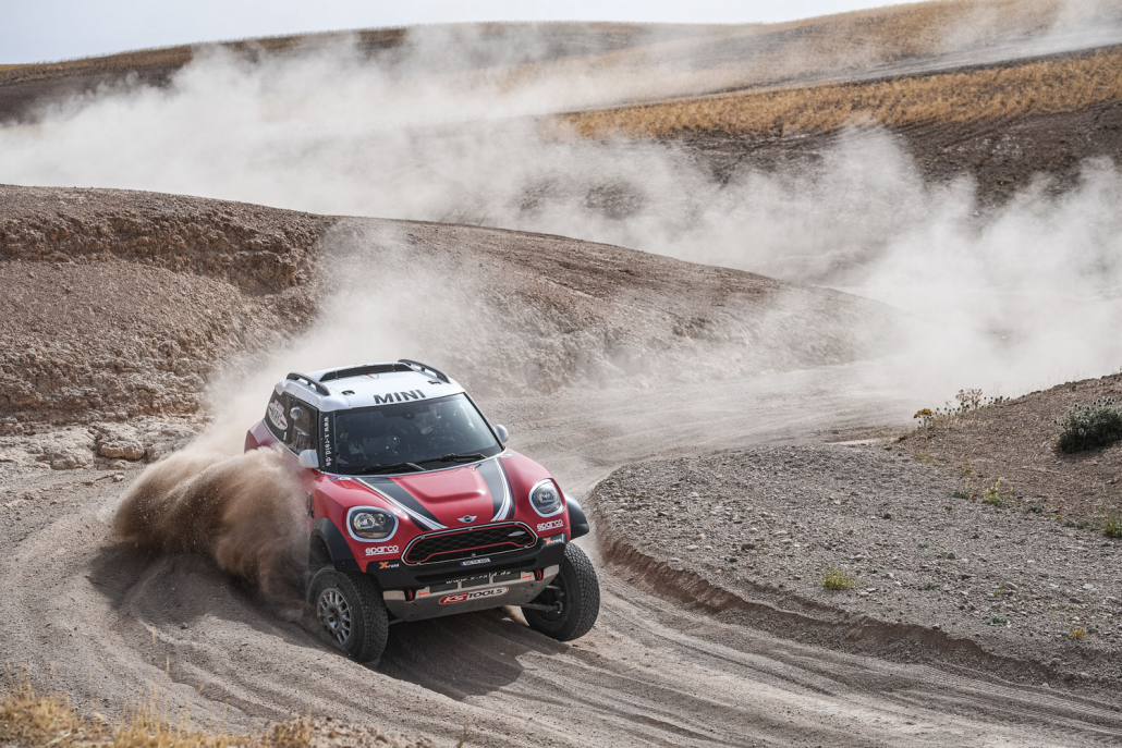 BMW Mini Dakar
